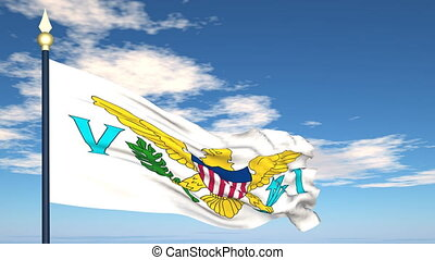 Flag Of United States Virgin Islands