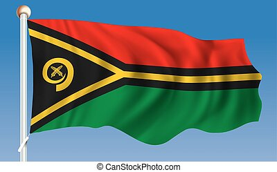 Flag of Vanuatu