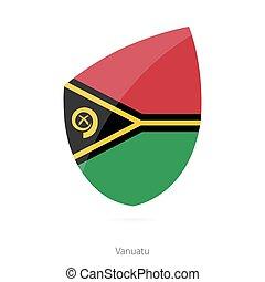 Flag of Vanuatu.
