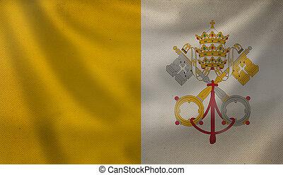 Flag of Vatican.