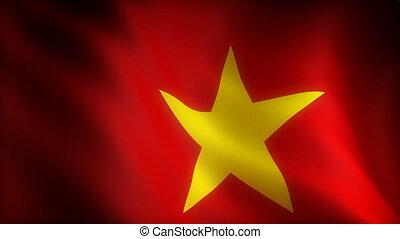 Flag of Vietnam (seamless)