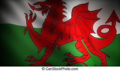 Flag of Wales (seamless)