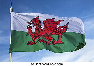 Flag of Wales - United Kingdom