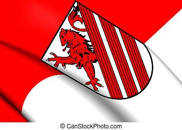 Flag of Weyhe, Germany.
