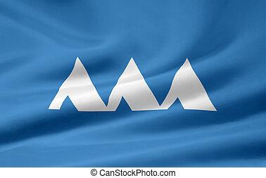 Flag of Yamagata - Japan - High resolution flag of the ...