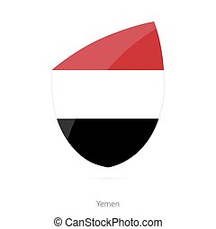 Flag of Yemen.