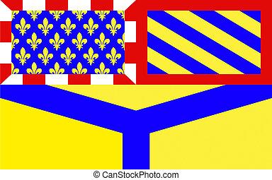 Flag of Yonne, France