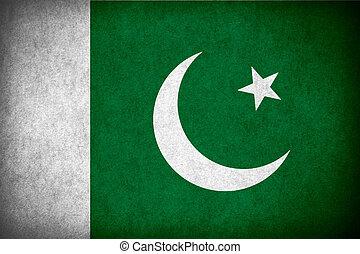 flag Pakistan - flag of Pakistan or Pakistani banner on ...