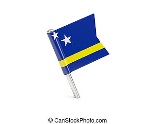 Flag pin of curacao