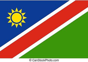 Flag rectangular shape
