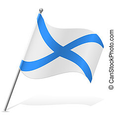 flag Scotland vector illustration