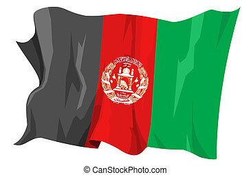 Flag series: Afghanistan