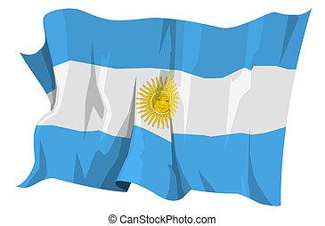 Flag series: Argentina