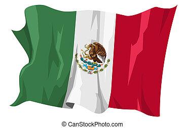 Flag series: Mexico