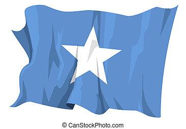 Flag series: Somalia