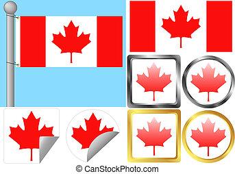Flag Set Canada