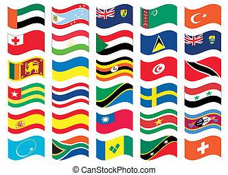 Flag set