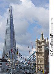 Flag Ship on the River Thames