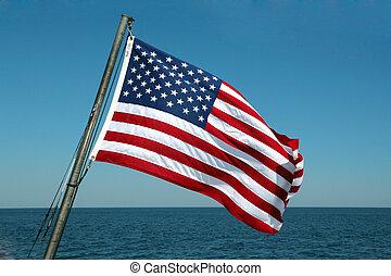 flag, stjerner striber