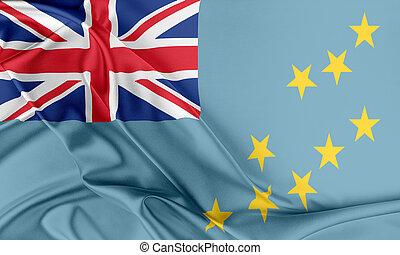 flag., tuvalu