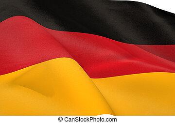 flag, tysk