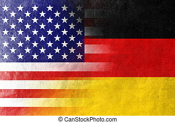 flag, tyskland, united states