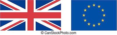 flag UK EU real proportion