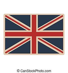 flag united kingdom classic british opaque icon