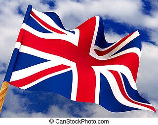 Flag. United Kingdom