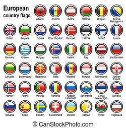 flag web buttons