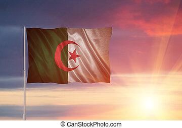 Flag of the Algeria