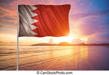 Flag of the Bahrain