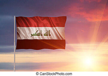 Flag of the Iraq