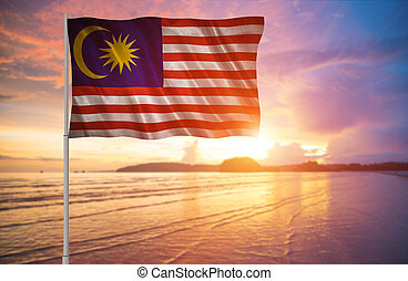 Flag of the Malaysia