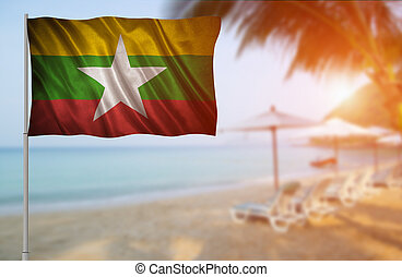 Flag of the Myanmar