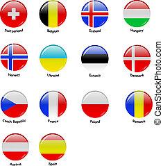 flages, parte, 2, -, europeu
