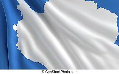 flagga, antarktis