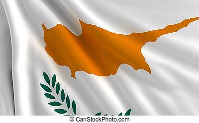 flagga, cypern