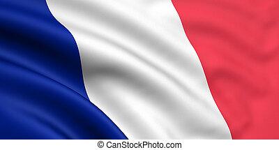 flagga, frankrike