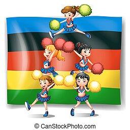 flagga, hejarklacksanförare, olympics