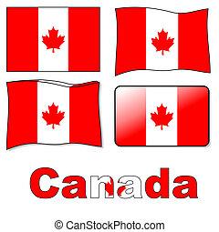 flagga, kanadensare