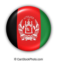 flagga, knapp, -, afghanistan