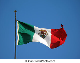 flagga, mexico