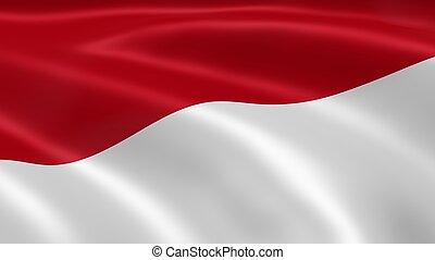 flagga, monegask, linda