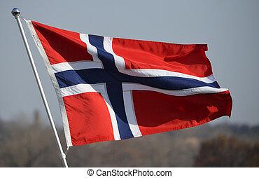 flagga, Norge