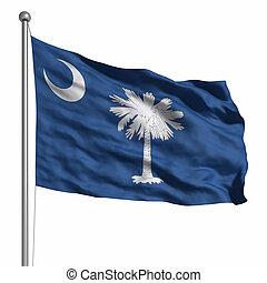 flagga, södra carolina