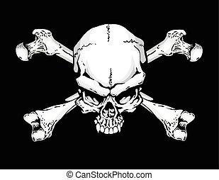 flagga, sjörövare