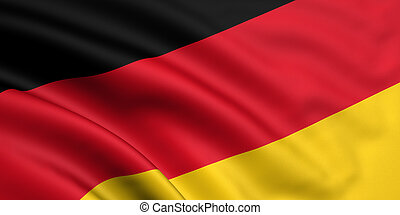 flagga, tyskland