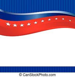 flagga, vektor, amerikan, bakgrund