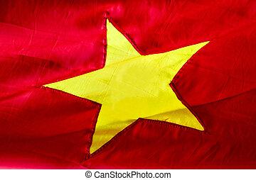 flagga, vietnam, bakgrund